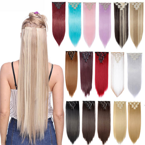 Clips in Hair Extensions-naturehairs.com