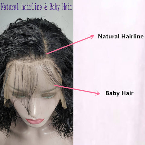 Synthetic Wigs-natural hairline and baby hair-naturehairs