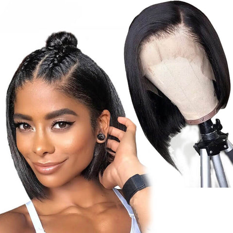 Brazilian Straight Lace Front Wig