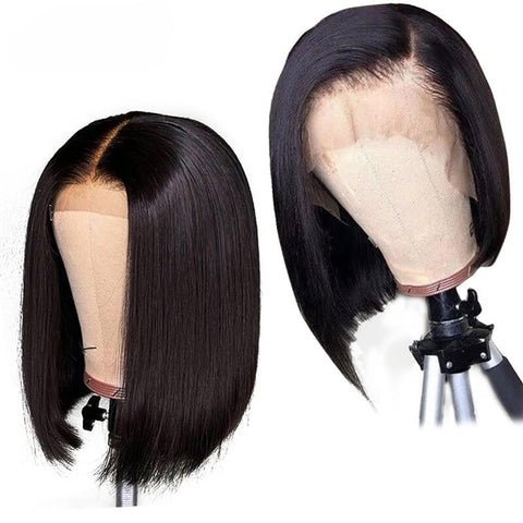 Brazilian Straight Lace Front Wig-5