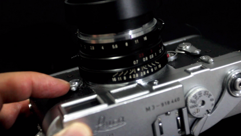 Leica M3 Viewfinder Frameline Preview