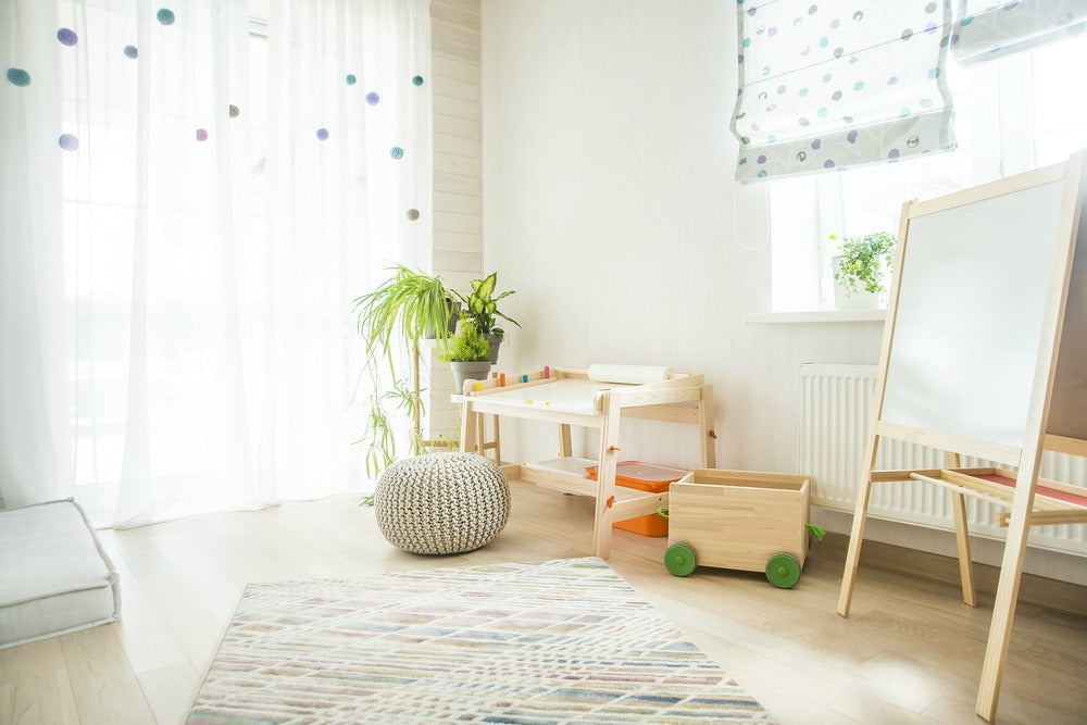 Color, Pattern and Light in a Kid's Room