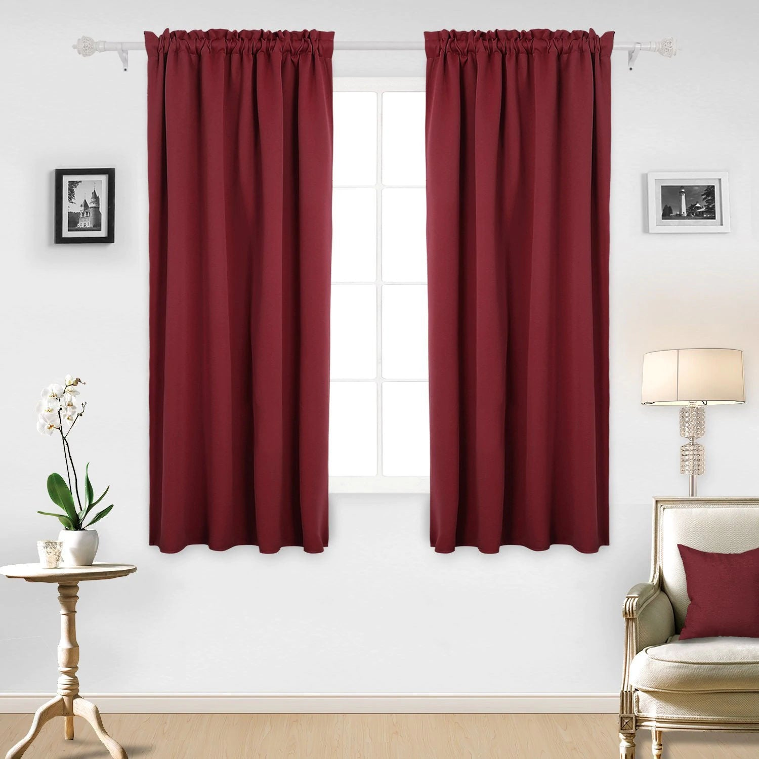 Red Curtains For Every Room Deconovo Us