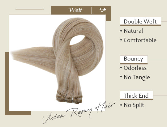 remy human hair weft human hair extensions can be last for 3-6 months