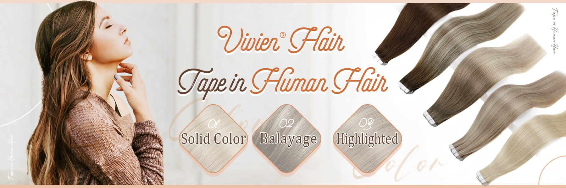 Remy Tape in Human Hair