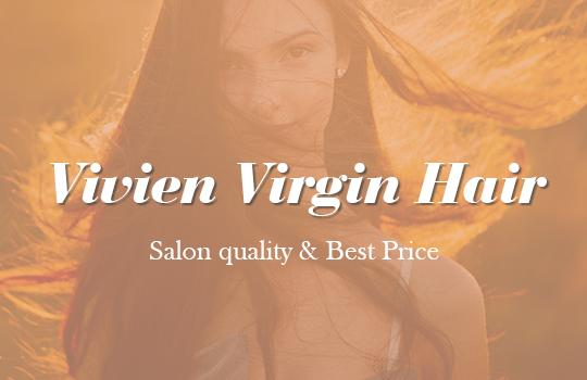 vivien virgin hand-tied hair weft invisible seamless human hair extensions