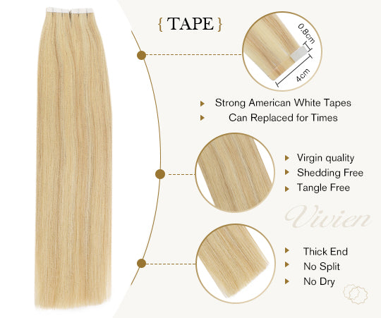 virgin tape in hair