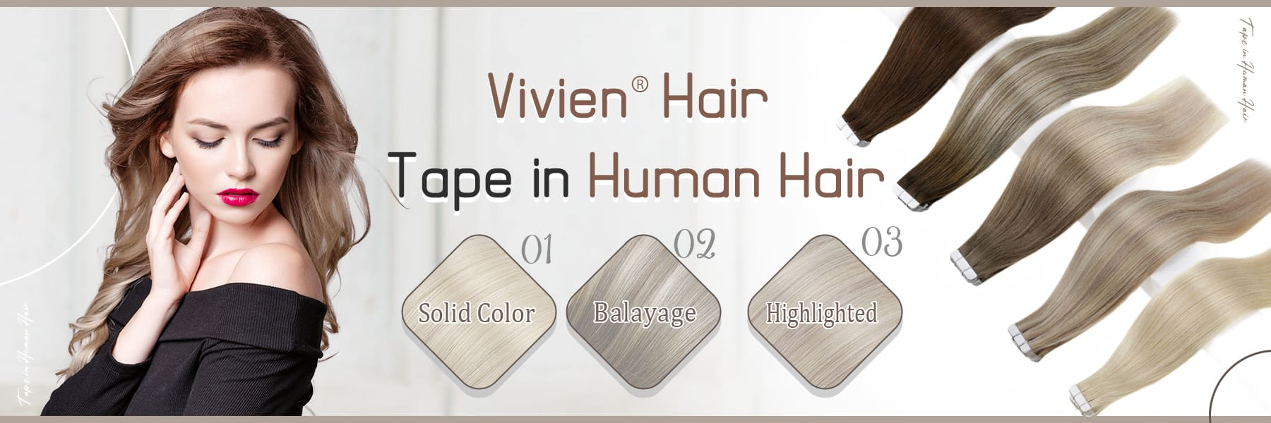 vivien remy tape in hair extensions