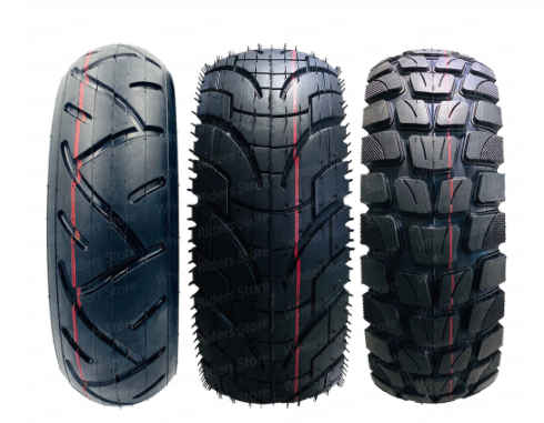 Comparison of 3 different kinds of electric scooter tires