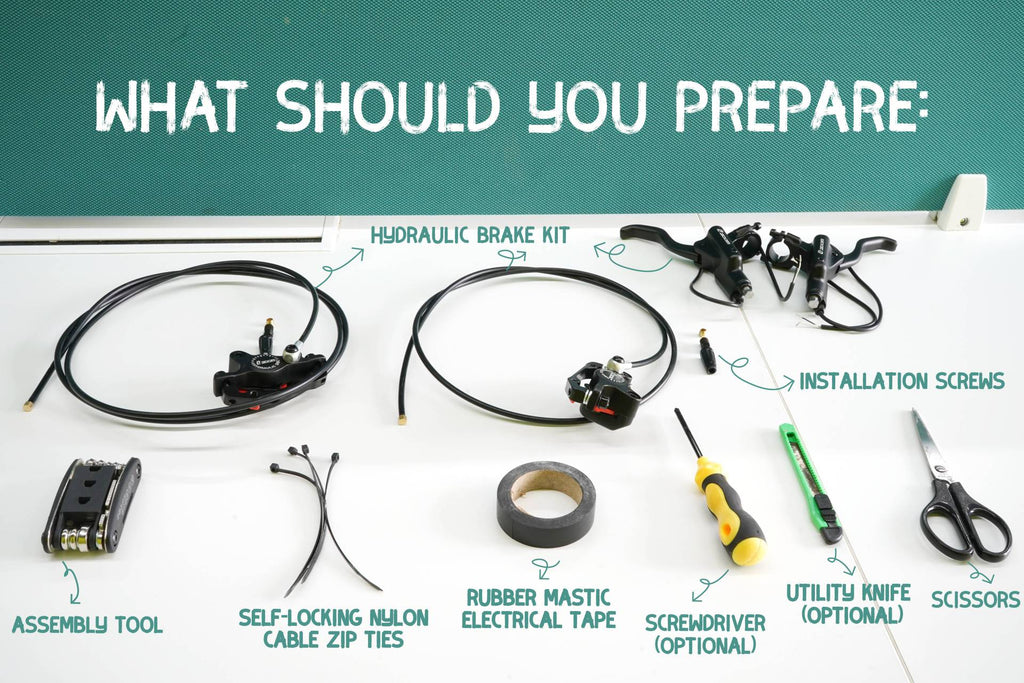 what should you prepare before installation