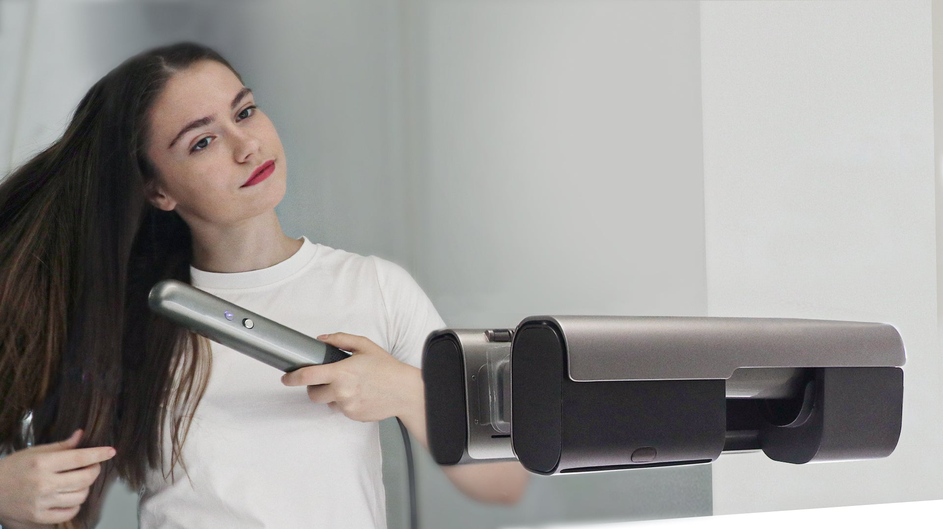 Hair and Hand Dryer Fast Dry in 3 mini