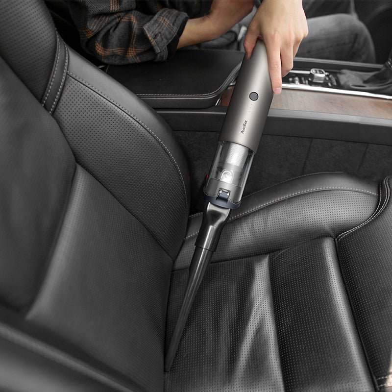 The brush nozzle help clean and remove debris ideally for A/C vents, dash, cub holders.