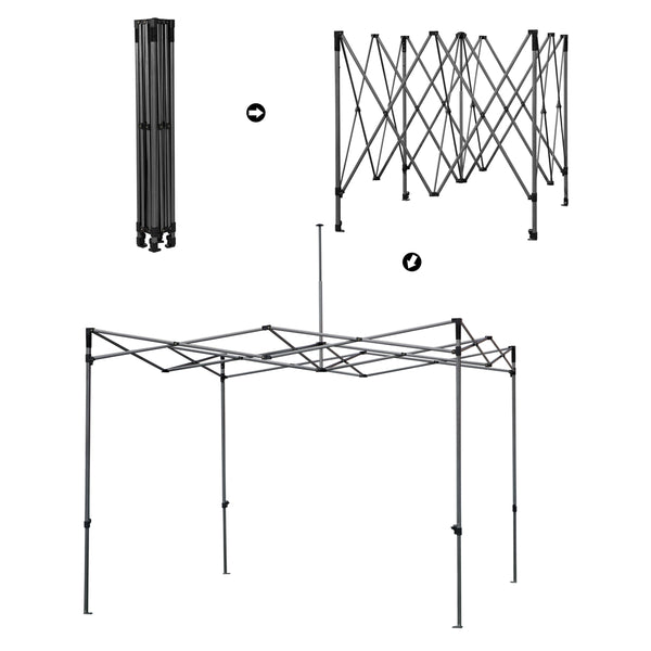 assembly of canopy tent