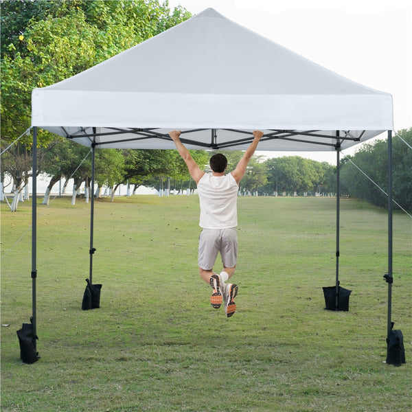 metal-frame tent canopy