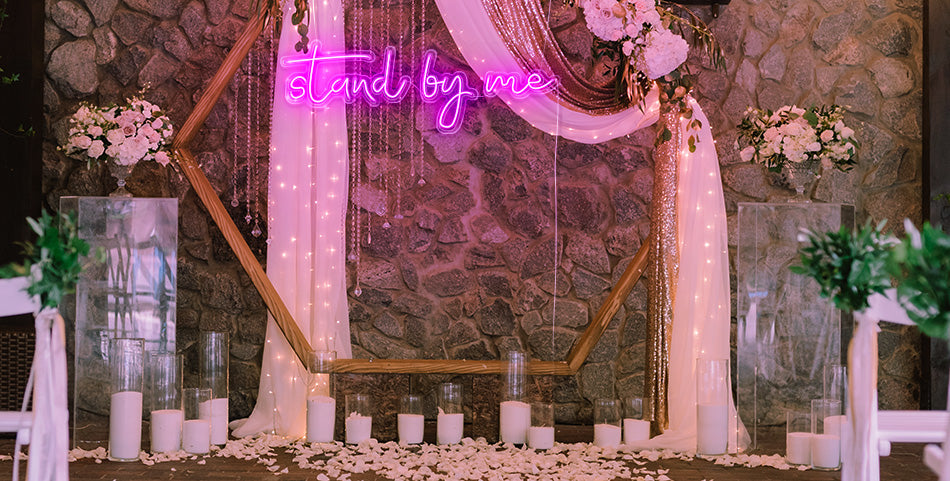 Stand by Me neon sign