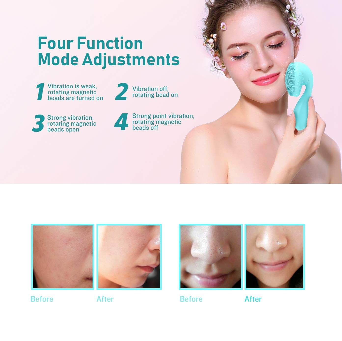 Electric cleansing instrument function