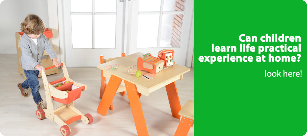 Can children learn life practical experience at home?  look here!
