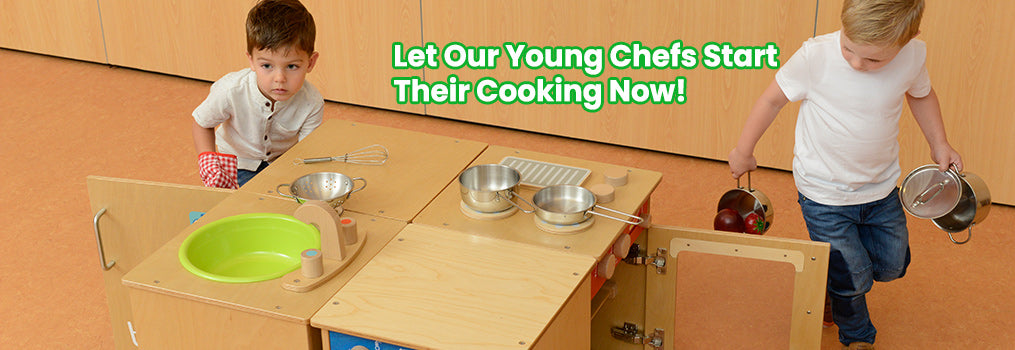Let Our Young Chefs Start Their Cooking Now!