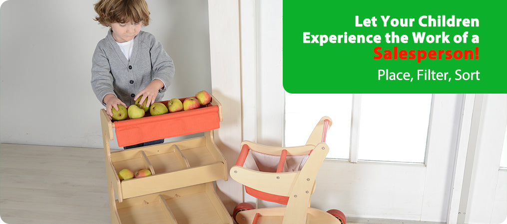 Let Your Children Experience the Work of a Salesperson!