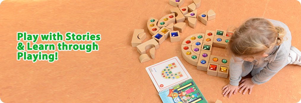 Play with Stories & Learn through Playing!