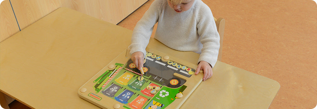 A great fun for the eco-conscious little ones!