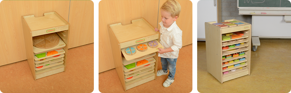 10 layers of storage room accommodate different Board Toys
