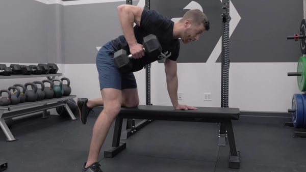 One-arm rowing