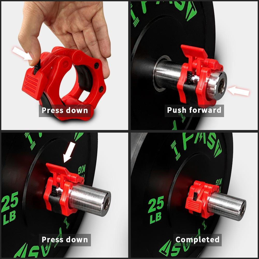 OLYMPIC BARBELL CLAMP