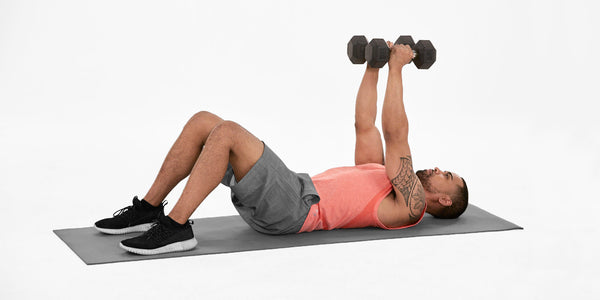 Supine straight arm pull up