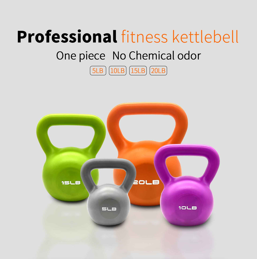 Each kettlebell have no chemical odor