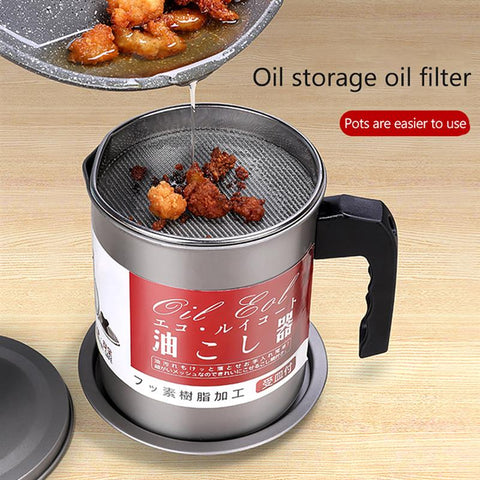 Kitchen Oil Filter Separator Pot