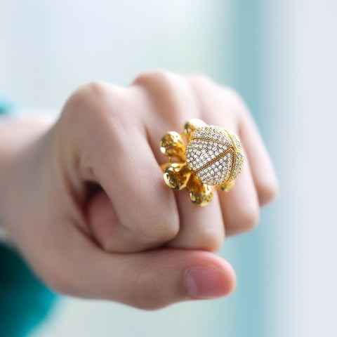 Flocaw Blooming Flower Ring