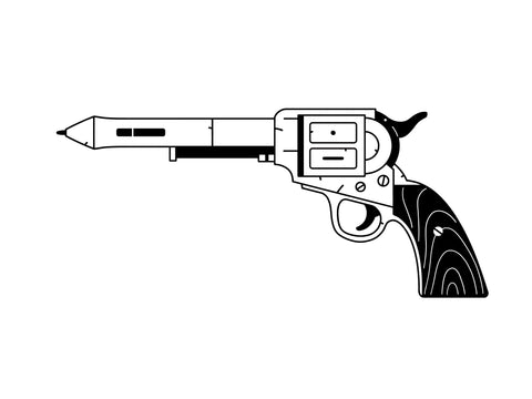 bulldog gun tattoo