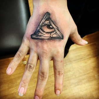 Tattoo of the Eye of Providence