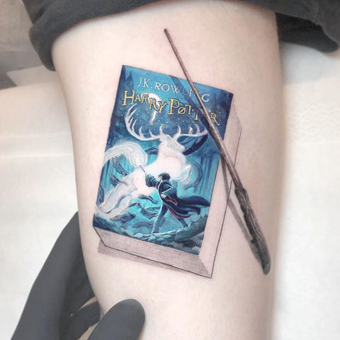 harry porter movie tattoo