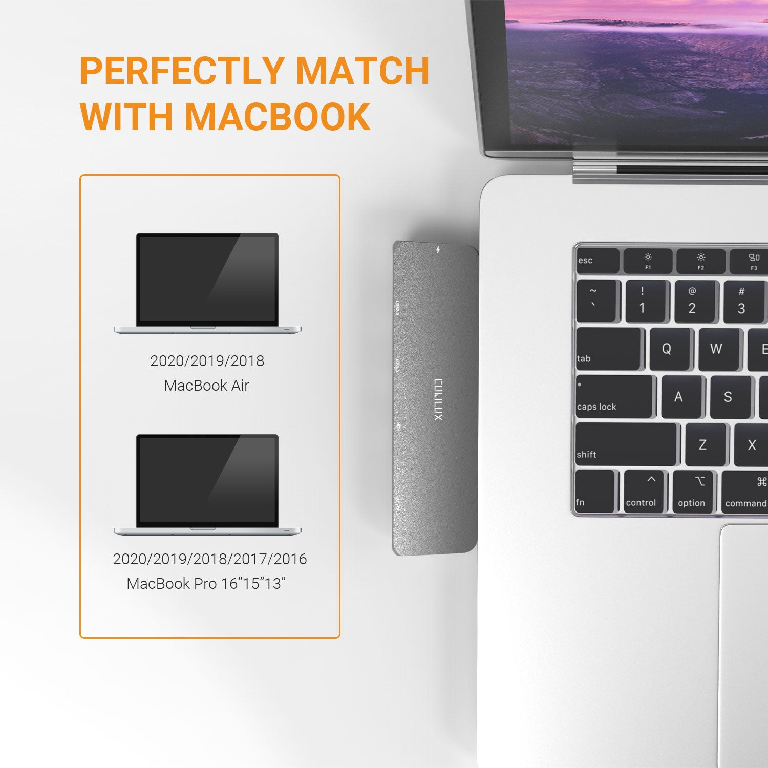 Perfectly Match with MacBook Series