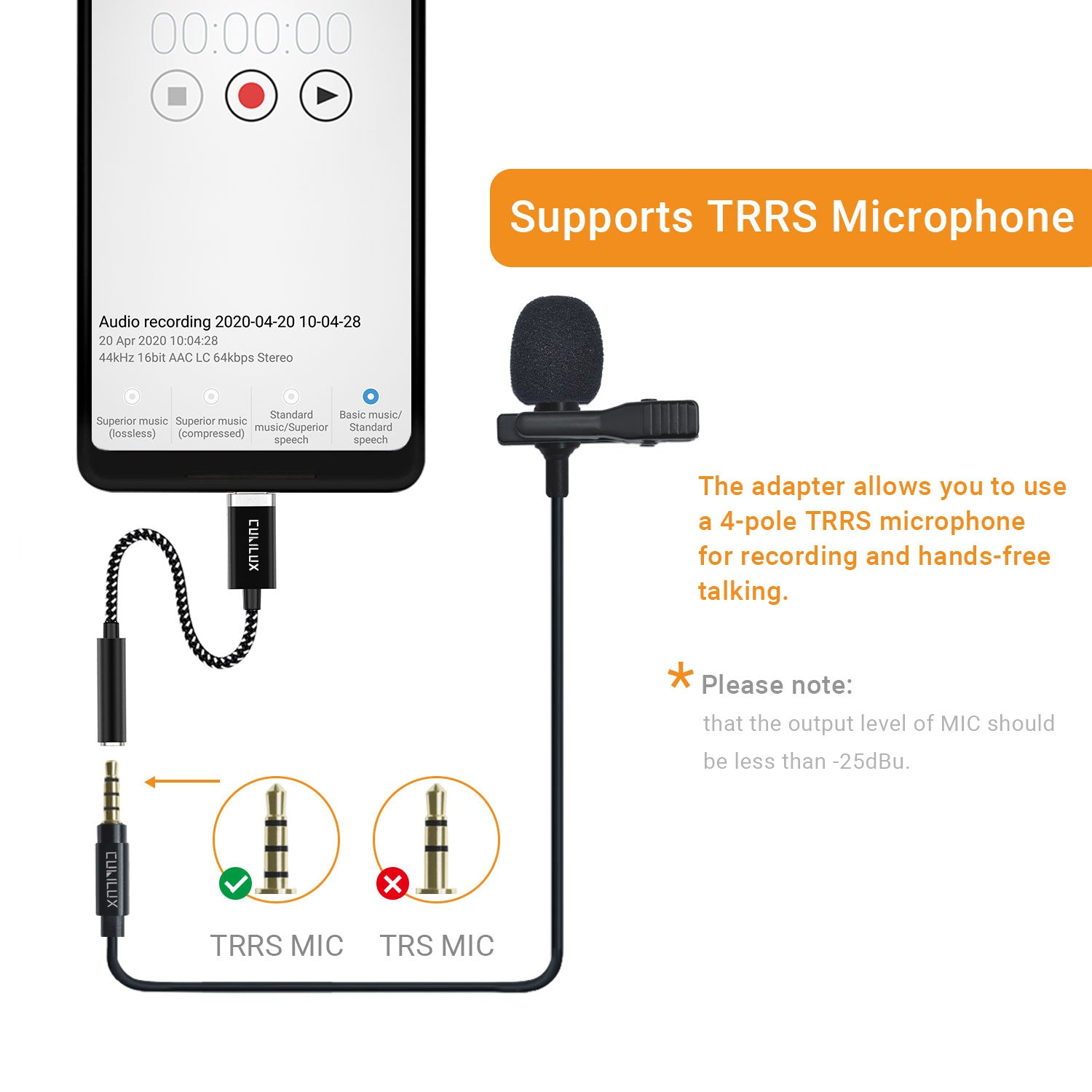 Support Phone Call & Recording