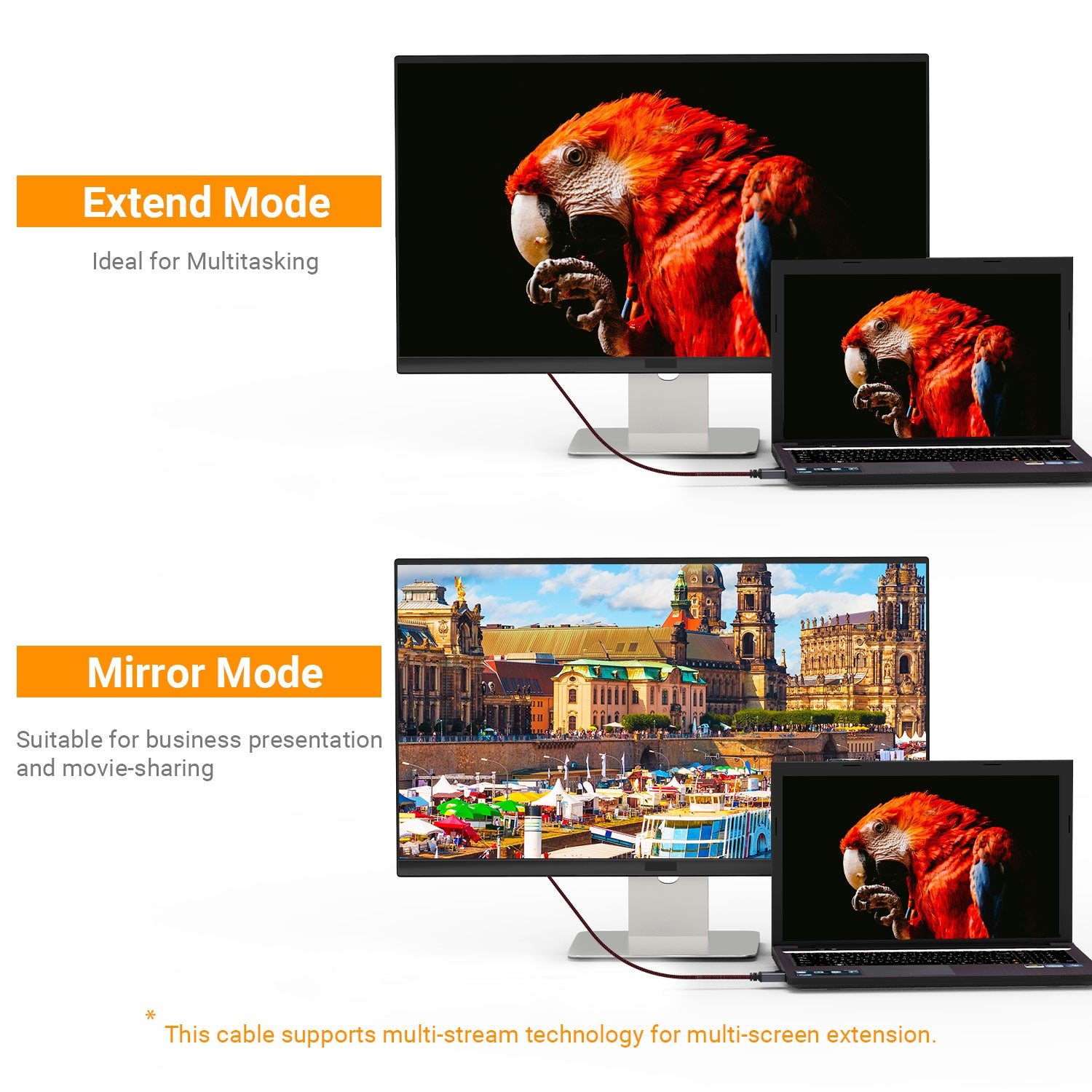 Ideal For Multiple Display