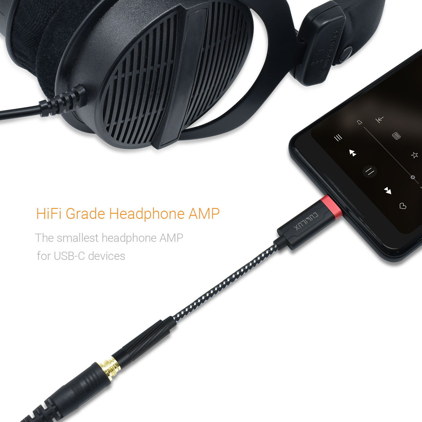 Portable HiFi Audio Solution for USB-C Devices