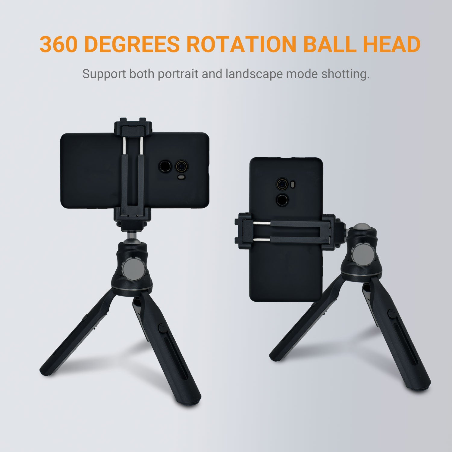 Adjustable Height & Free Angle