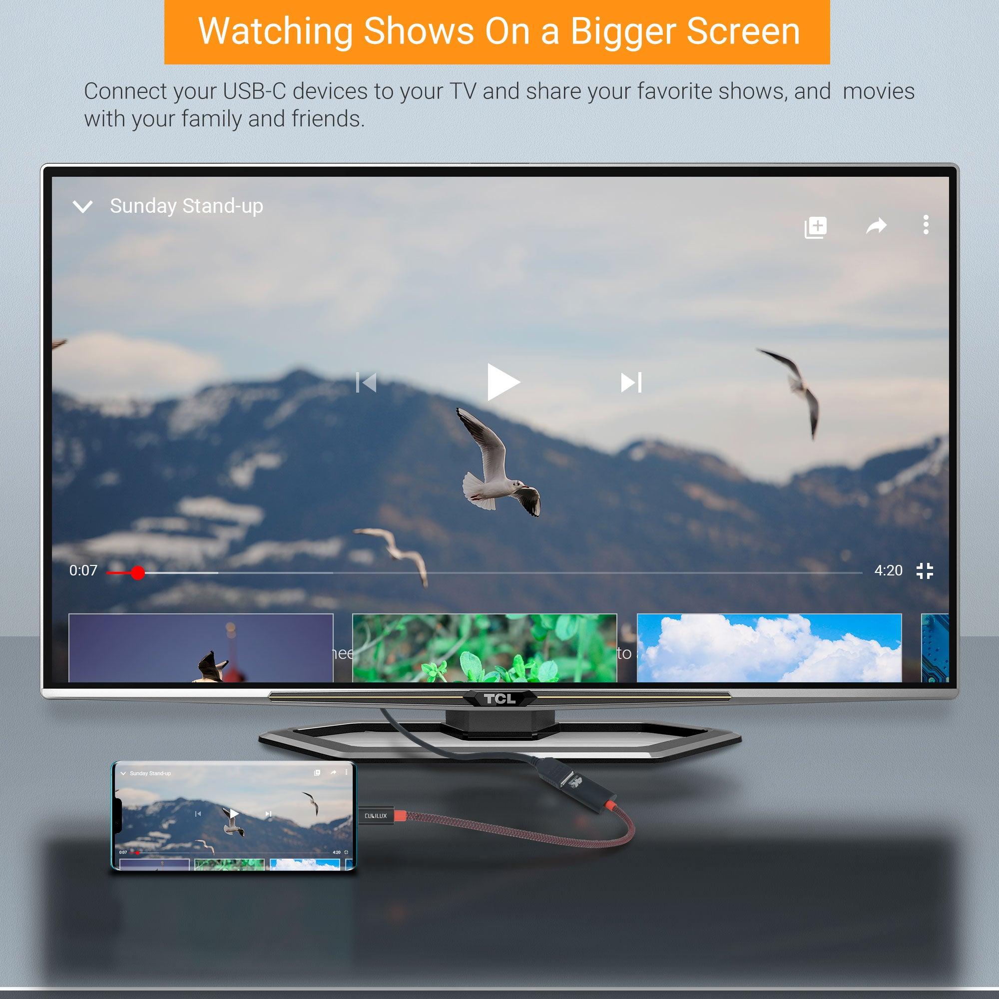Enjoy 4K Video from Your USB-C Devices on Big Screen