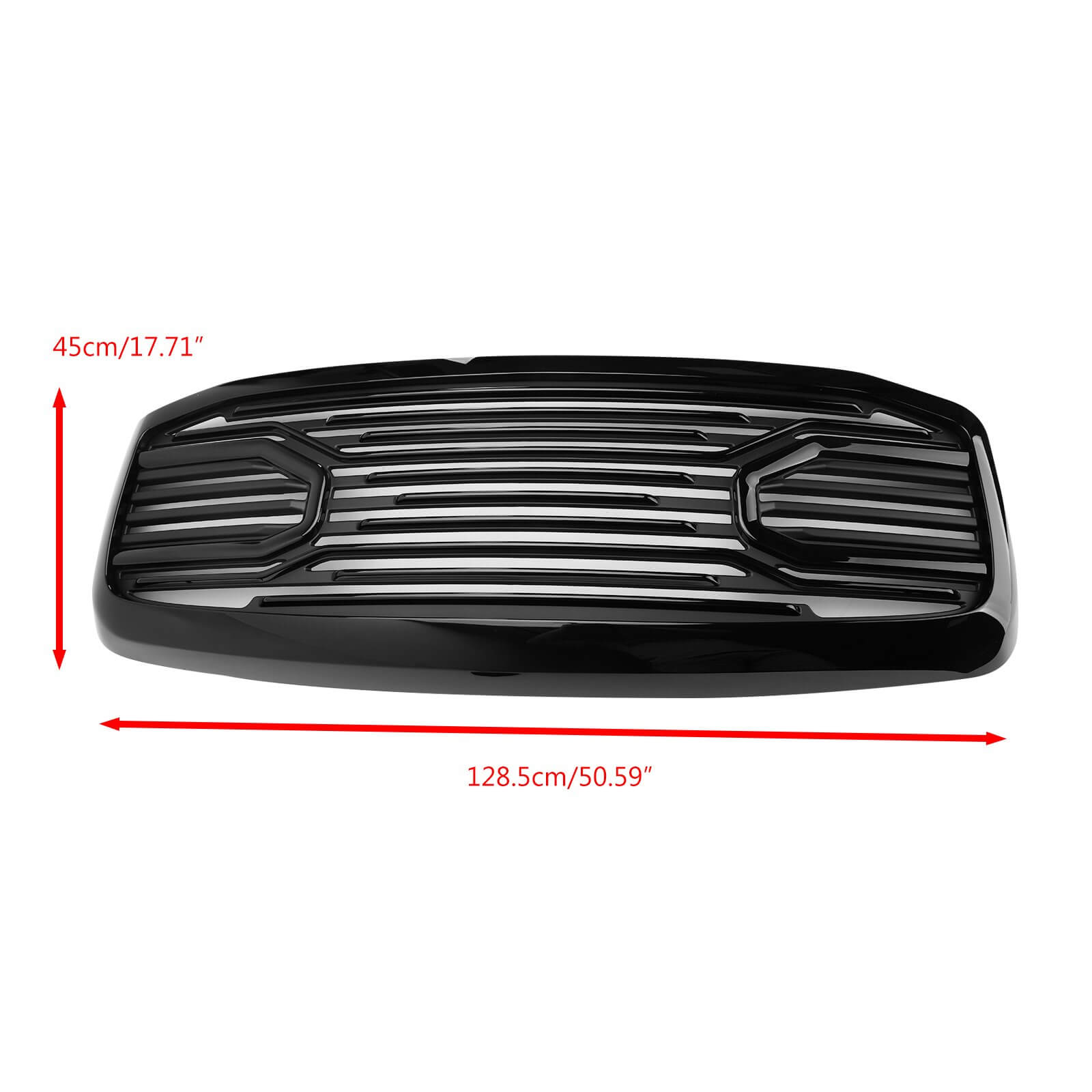 Big Horn Grille Replacement Mesh Front Grill Shell For Doge RAM 2500/ 3500/ 1500 Generic