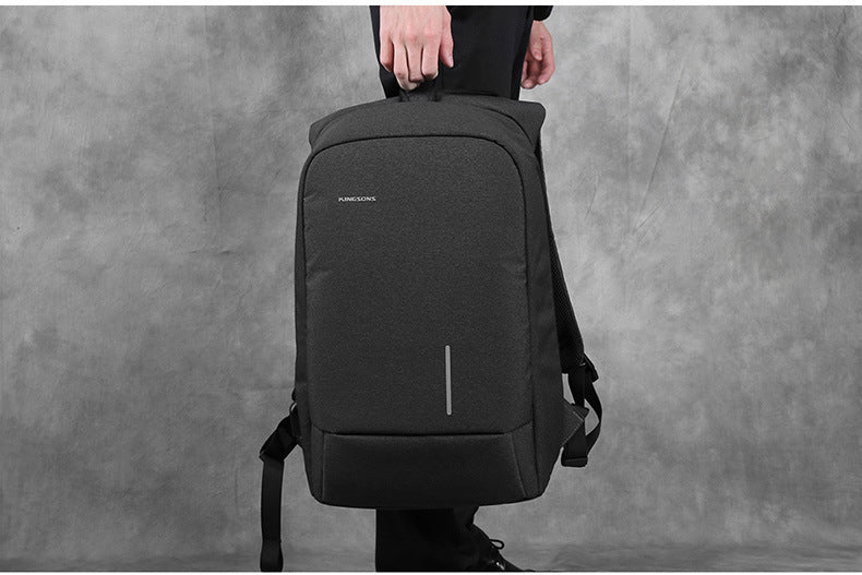 "kingsons high quality anti-theft 15.6"" backpack"