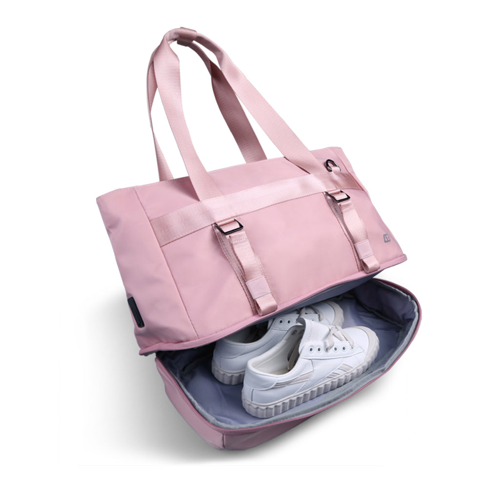 kingsonsYoga Bag shows the effect of storing shoe compartments