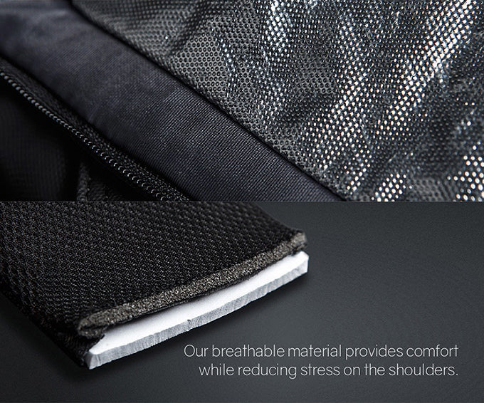 KORIN Design FlexPack Pro Our breathable material provides comfort while reducing stress onthe shoulders. - kingsons.com