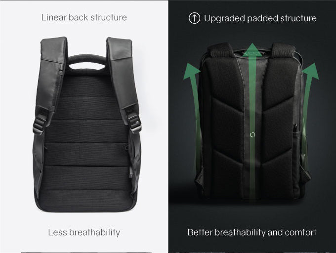KORIN Design FlexPack Pro  Upgraded Linear back structure Better breathability and comfort - kingsons.com