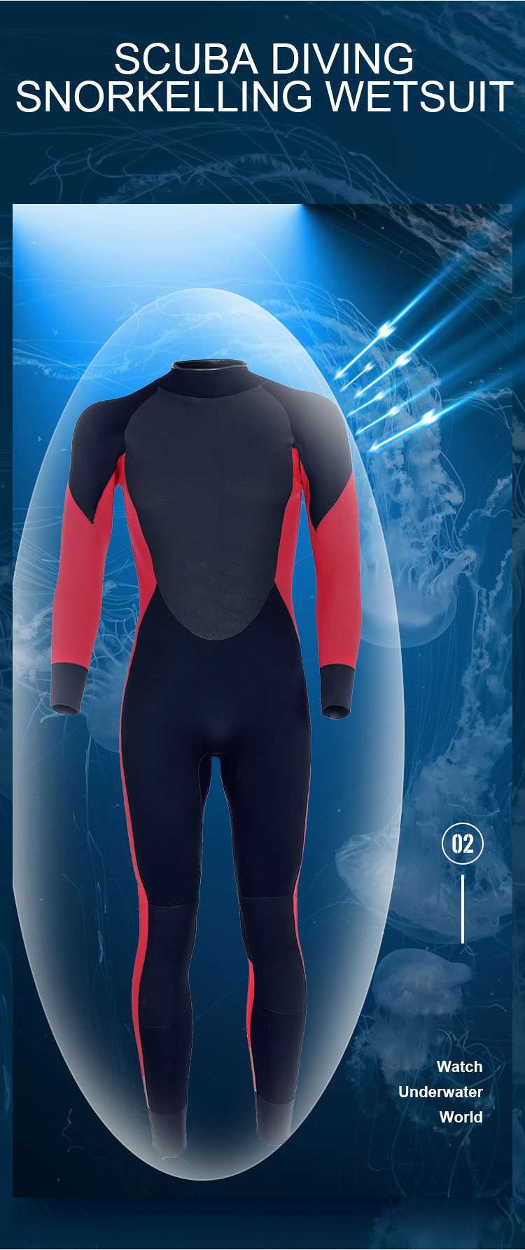 scuba diving suit Sbart Scuba Diving Clothing Man