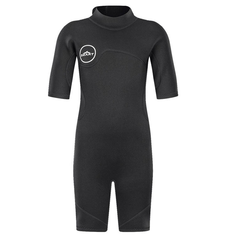 boys in wetsuits kids scuba diving suit