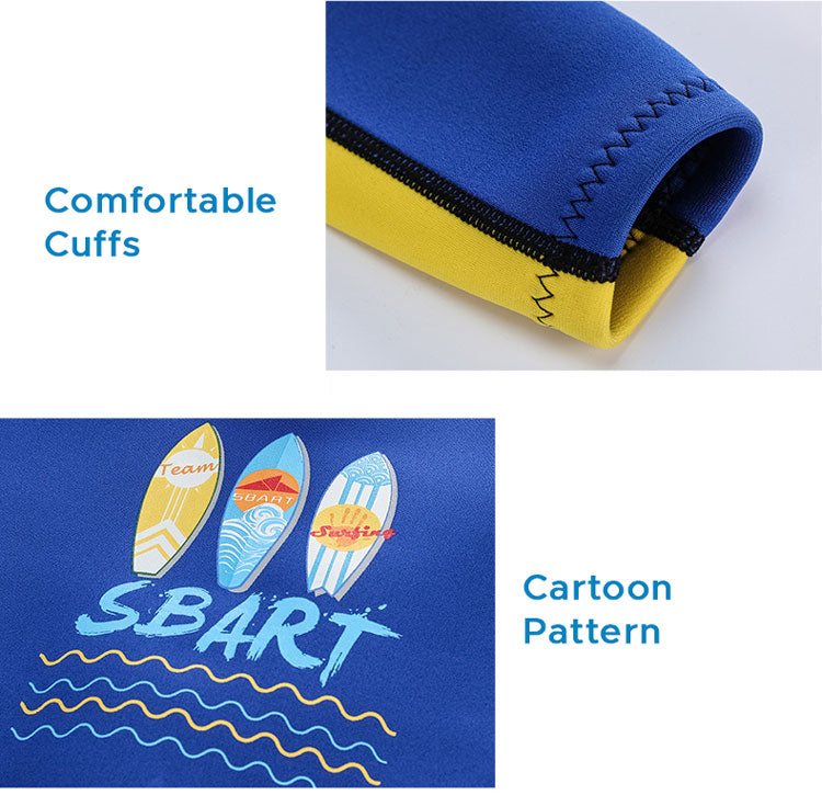 cute swimming wet suit for children
