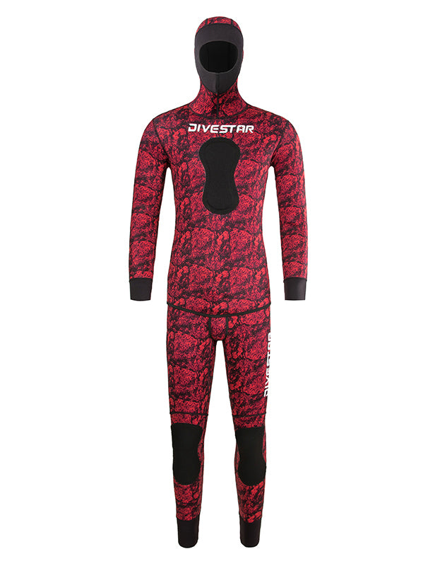 Camouflage  Wetsuit  for  Spearfishing
